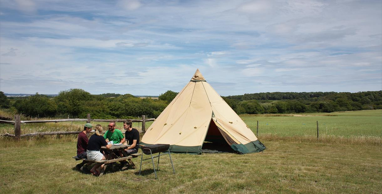 Brenscombe Outdoor Centre Tipi Tents