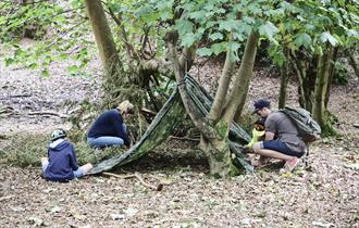"""bushcraft with foreadventure in studland"""