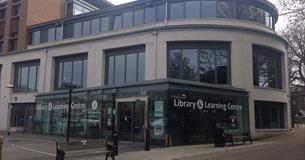 Dorchester Information Centre entrance