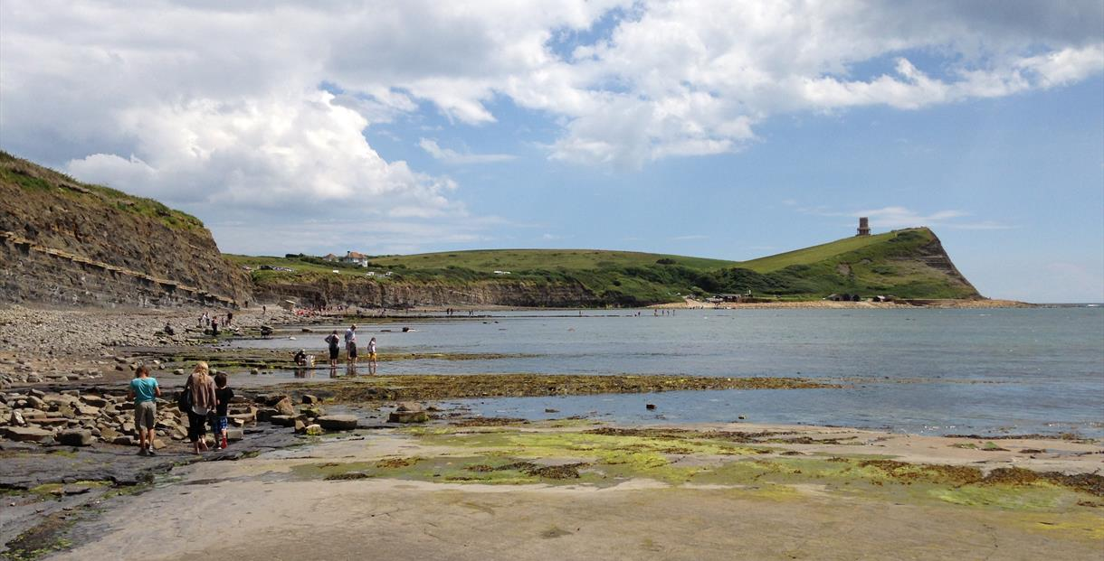 View from flats to east side of Kimmeridge Bay
