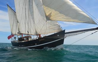 Moonfleet Adventure Sailing