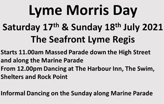 Lyme Morris Day event poster