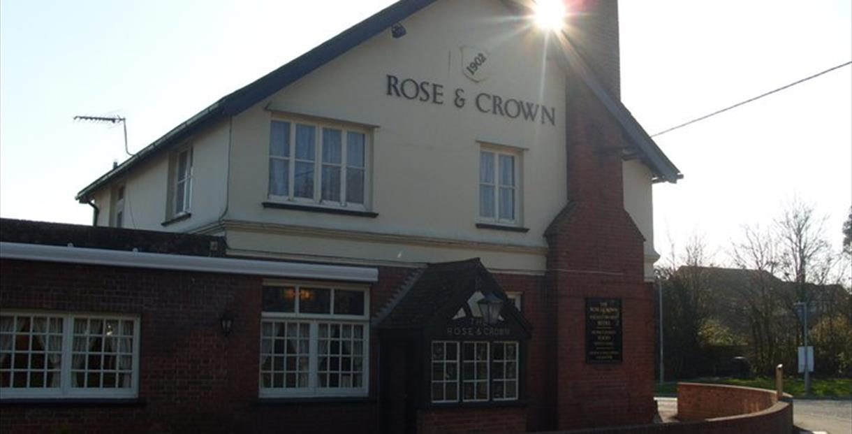 The Rose and Crown at Lytchett Matravers