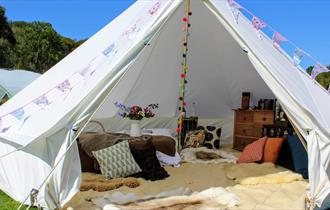 Redlands Coppice bell tent