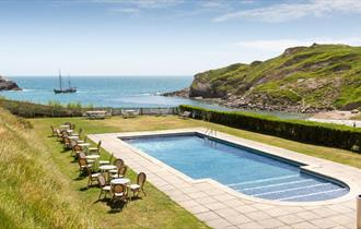 Rudds of Lulworth - Outdoor Swimming Pool