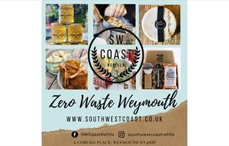 SW Coast Refills shop in Weymouth