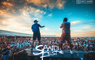 SandFest UK Music Stage