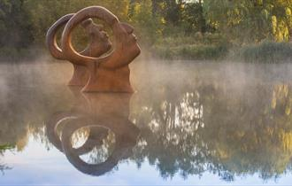 Sculpture by the Lakes - Search for Enlightenment
