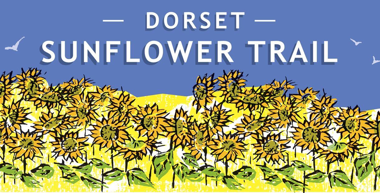 Dorset Sunflower Trail Logo