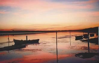 The Fleet lagoon, Dorset