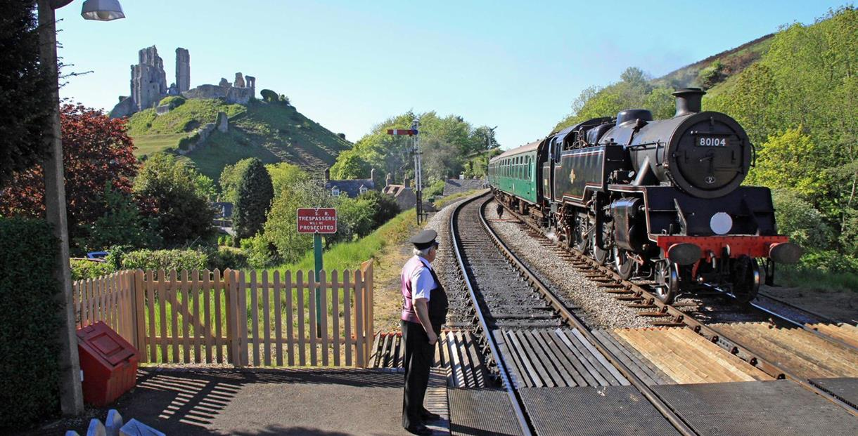 Swanage Railway - photo taken by Andrew P.M. Wright