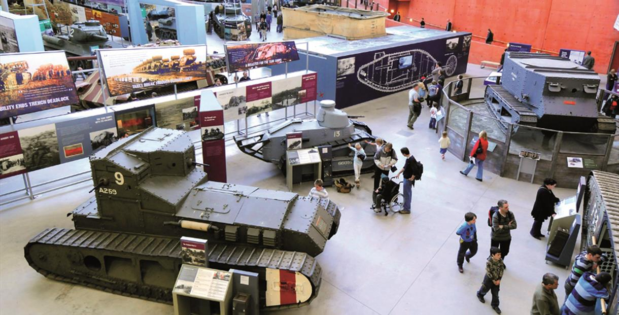 The Tank Museum, Dorset: The Tank Story