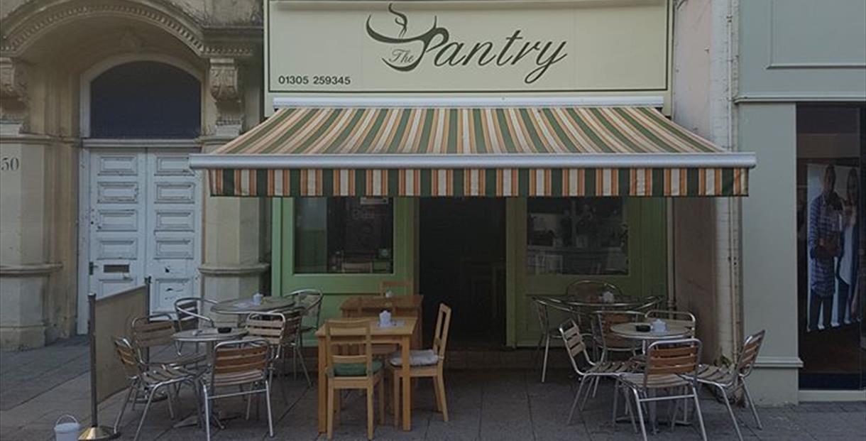 The Pantry Cafe, Dorchester, Dorset