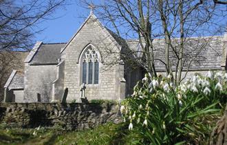 Tyneham Village Church, Dorset