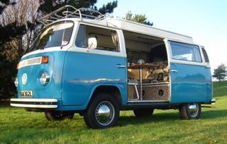 Vintage V.W. Campervan