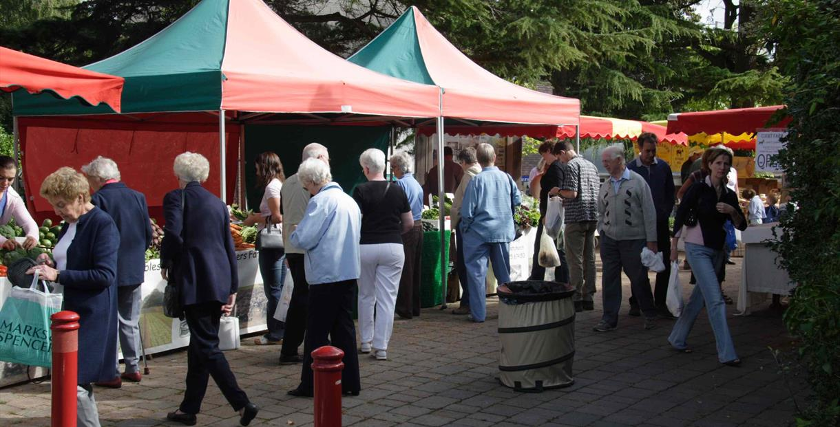 Farmers Market at Ferret Green in Verwood