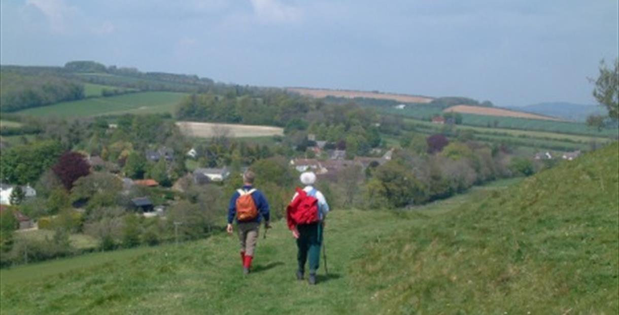 Walkers in Dorset