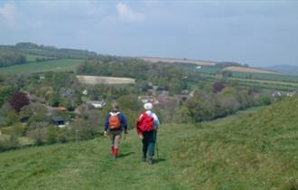 Walkers in Dorset