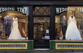 Wedding Time shop in Dorchester, Dorset