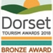 Dorset Tourism Awards Bronze 2018