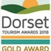 Dorset Tourism Awards Gold 2018