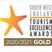 South West England Tourism Excellence Awards Gold