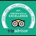 TripAdvisor - Certificate of Excellence - 2019