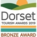Dorset Tourism Awards 2019 - Bronze Award