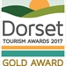Dorset Tourism Awards 2017 - Gold Award