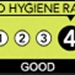 Food Hygiene Rating - 4