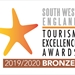 South West England Tourism Excellence Awards - Bronze
