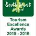 South West England Tourism Excellence Awards 2015-2016 Finalist