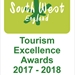 South West Tourism Excellence Awards 2017/18 - Silver