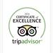 TripAdvisor Certificate of Excellence