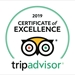 TripAdvisor Certification of Excellence – Hall of Fame – 2019