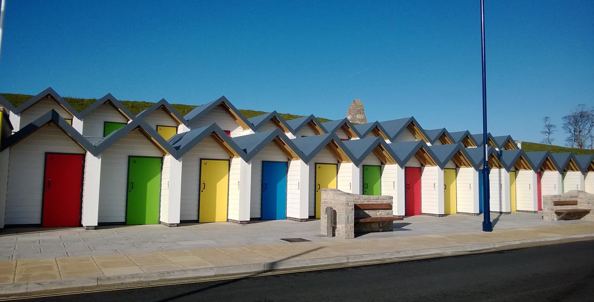 Swanage Beach Huts