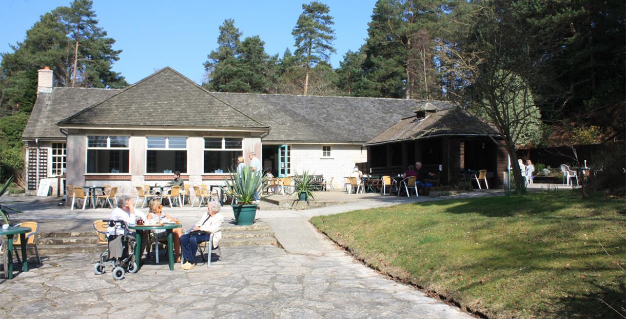 The Blue Pool Tea Rooms near Wareham, Dorset