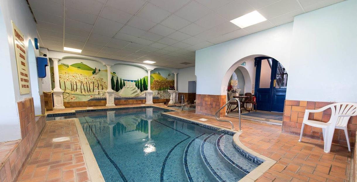 The Burlington Heath Spa and Fitness Club plunge pool