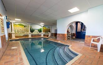 The Burlington Heath Spa and Fitness Club plunge pool