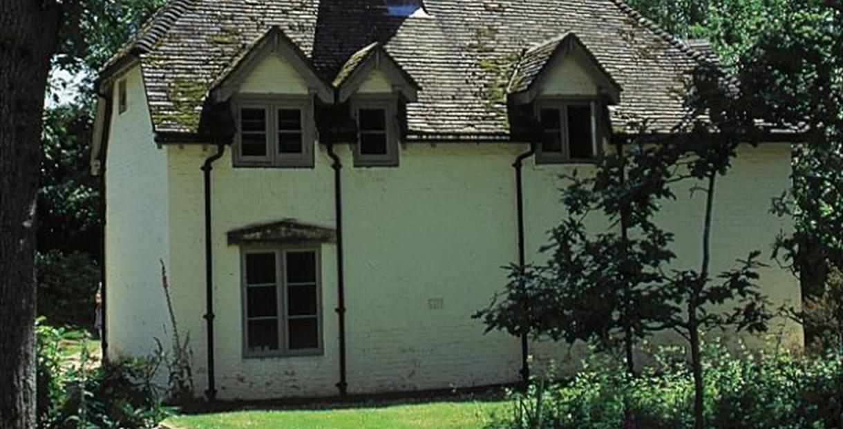 Clouds Hill cottage - the home of T.E. Lawrence (also known as Lawrence of Arabia).