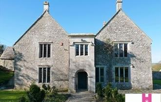 Front elevation of Dunshay Manor, Purbeck