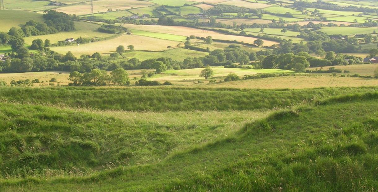 Eggardon Hillfort (photo credit National Trust)