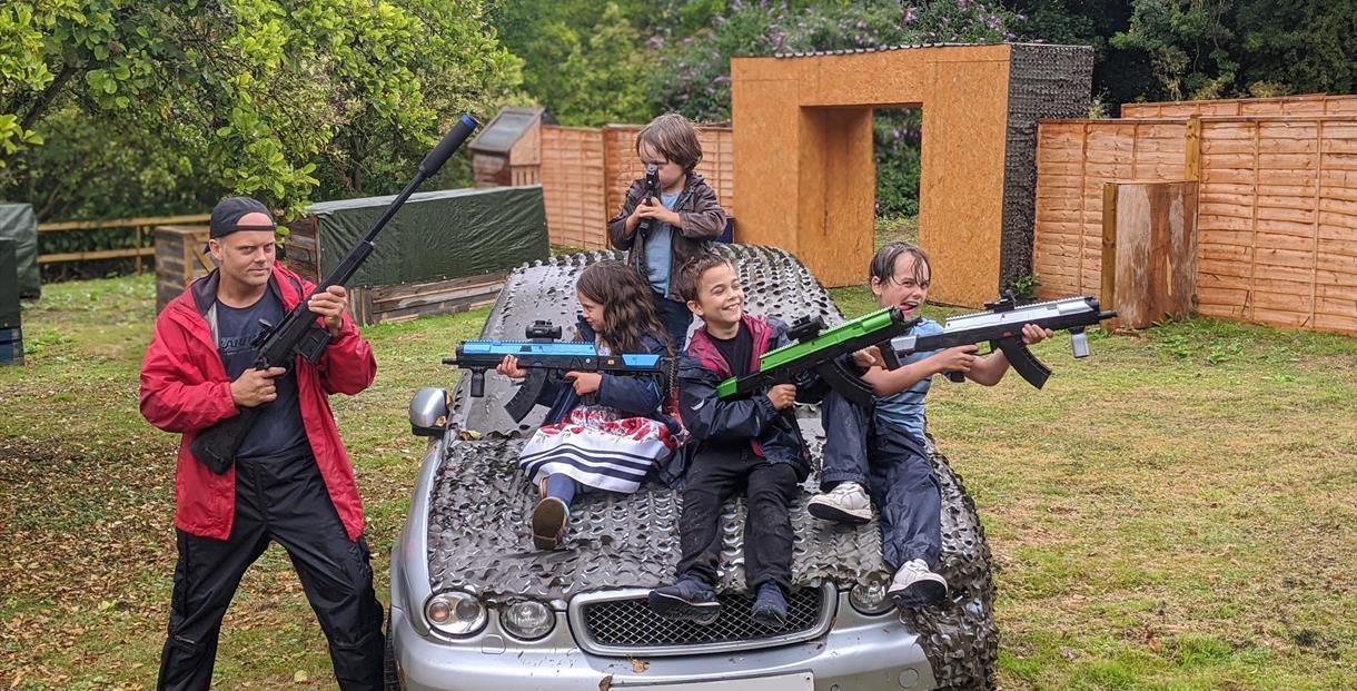 Laser Guys Laser Tag family fun