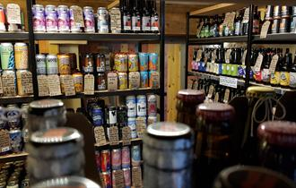 Interior GYLE 59 Brewery shop