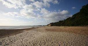 Highcliffe Castle Beach
