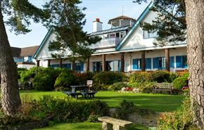 Knoll House Hotel in Studland, Dorset
