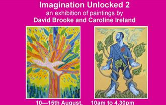 poster for the exhibition Imagination Unlocked 2