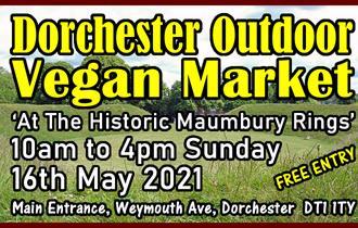 Dorchester Outdoor Vegan Market Poster