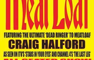 Hits out of Hell - The Meatloaf Songbook fully seated show in the theatre at Weymouth Pavilion