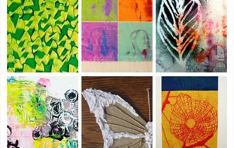 Images of printmaking